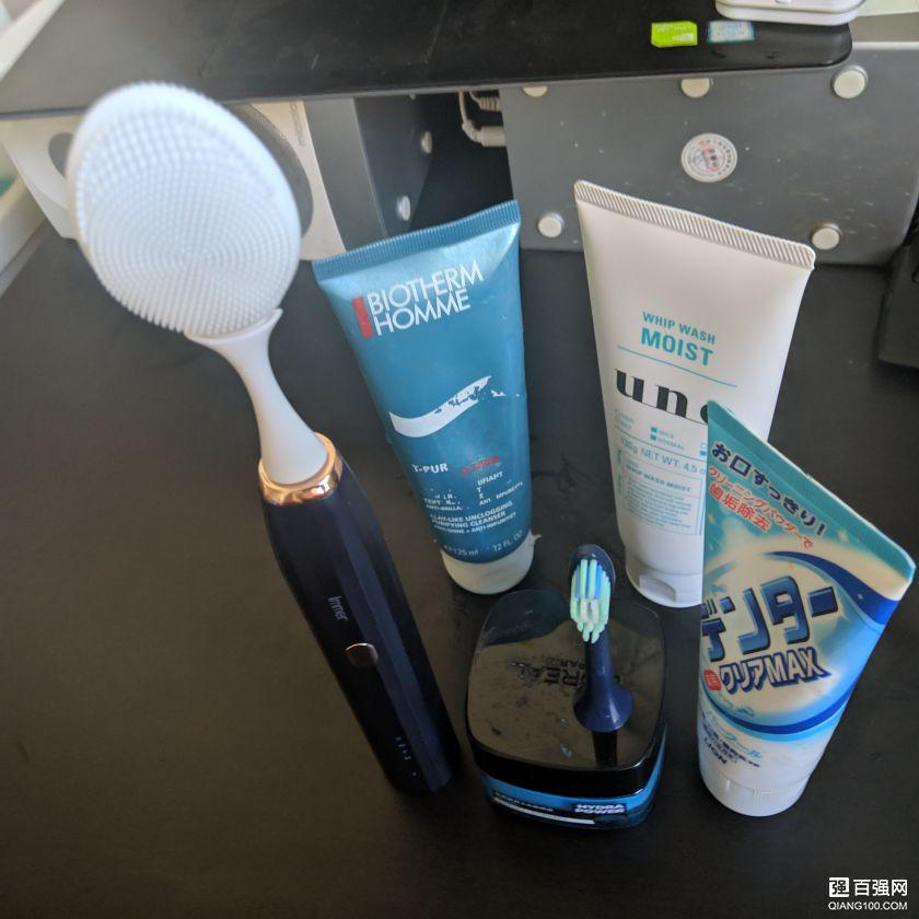 不专业但很用心的人生第一次开箱评测:可做洁面仪的电动牙刷