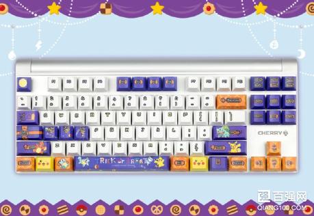 """Cherry樱桃推出""""宝可梦群像版""""键盘"""