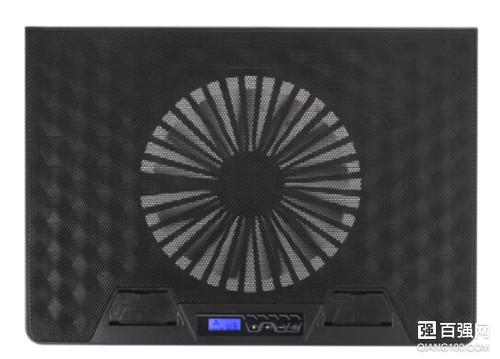 雷神推出一款风洞笔记本散热器:129元,搭载液晶屏