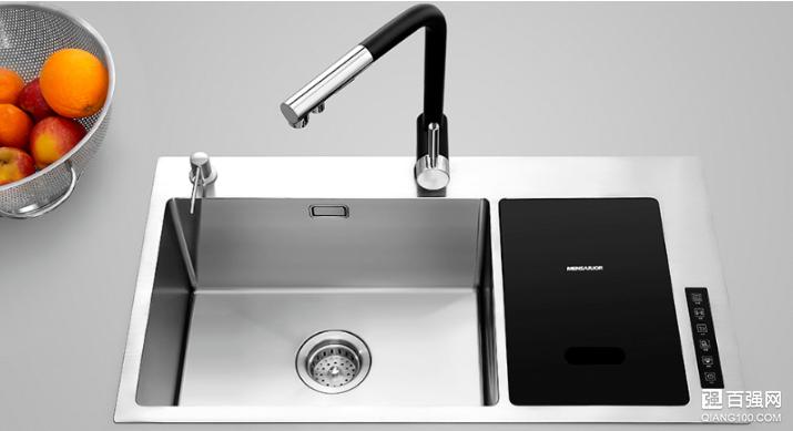 美仕杰水槽净洗机上架小米众筹:定制化洗涤模式