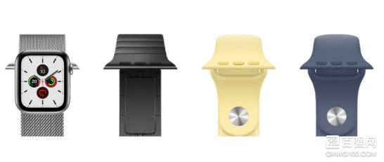 苹果Apple Watch Series 5智能手表发布:多种类型搭配