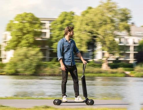 奥迪推出E-Tron电动滑板车了,你们期待吗?