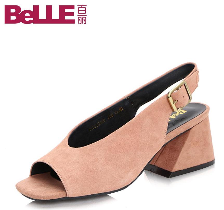 百丽(Belle)凉鞋怎么样呢?哪个款式好?