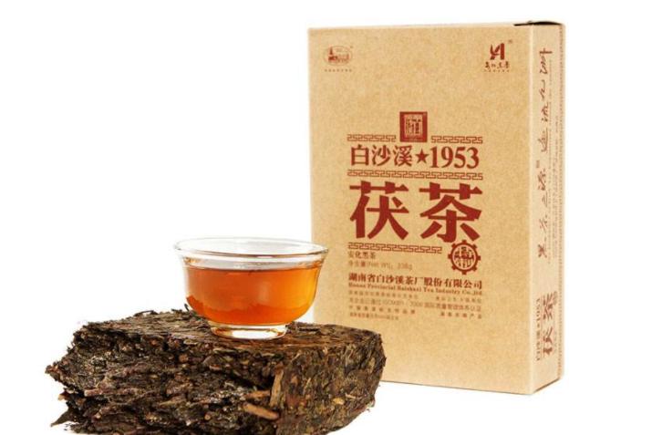 安化白沙溪黑茶作用?