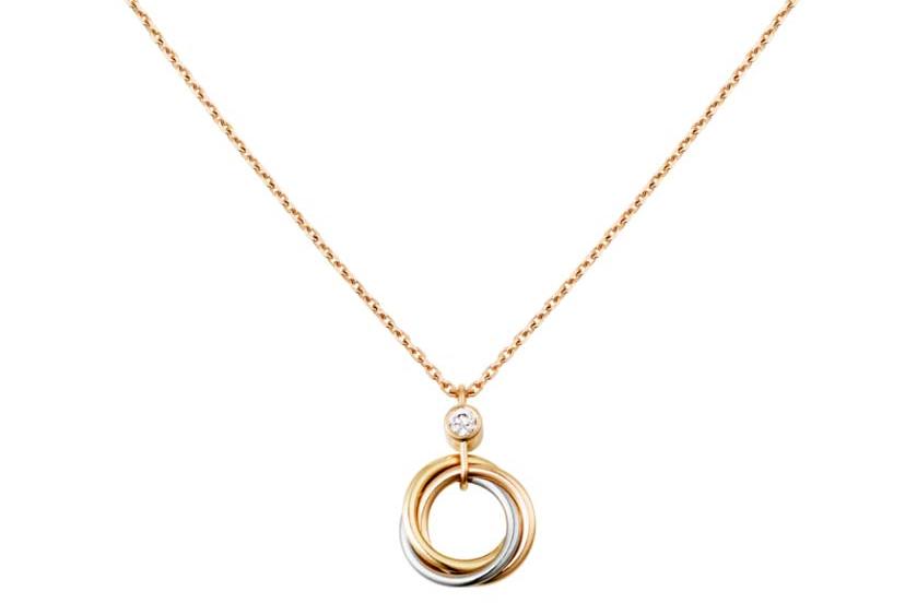 卡地亚锁骨链钻石多大?Cartier卡地亚单钻女士项链价格?