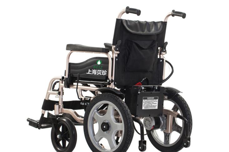 上海贝珍电动轮椅价格?可以上坡吗?