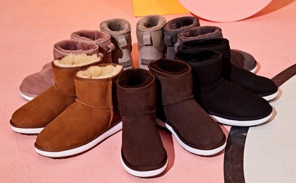 女雪地靴新款加厚底推荐?2018年新款雪地靴图片?