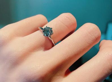 tiffany1克拉钻石戒指价格?