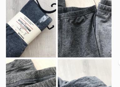 优衣库和无印良品的打底裤哪个好?谁能比较一下?