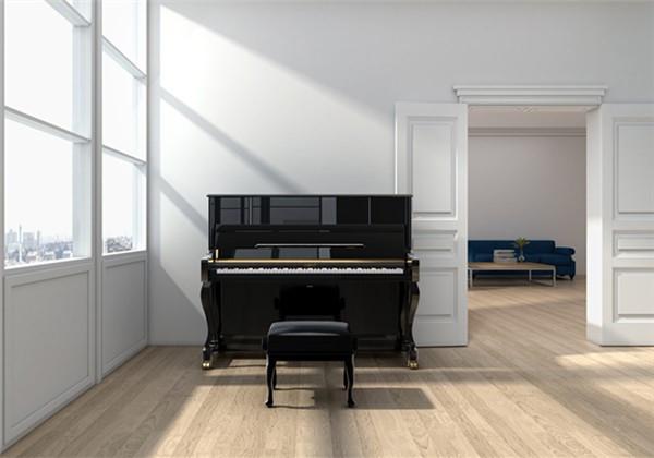 让一架充满小资情调的静音钢琴 展现孩子的别样才华