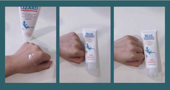 蓝蜥蜴妆前隔离防晒乳—出行防晒更好的选择