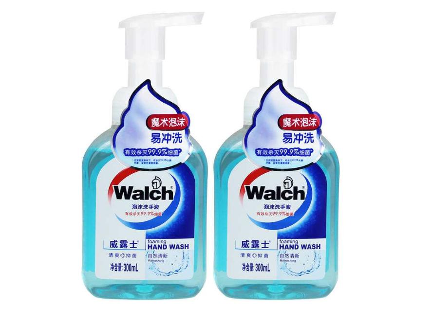 威露士泡沫洗手液味道?会不会假滑?