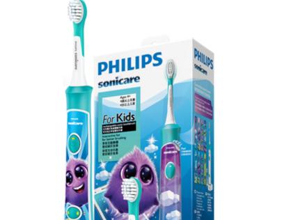 飞利浦儿童牙刷怎么用?配app吗?