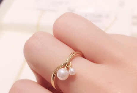 mikimoto珍珠戒指图片?mikimoto珍珠色泽好看嘛?