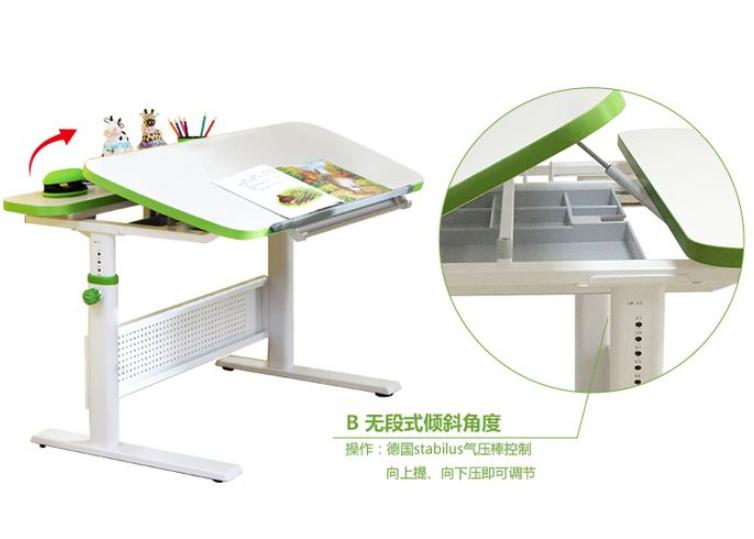 康朴乐书桌怎么调高?康朴乐学习桌是什么材质?