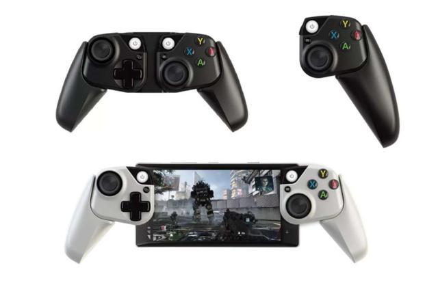 微软推出手机平板专用手柄,采用类似Switch的可拆式设计
