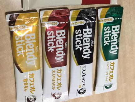 blendy咖啡口味区别?blendy咖啡有哪几种?