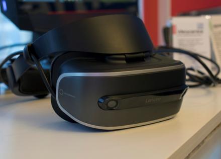 联想新 VR 头显曝光:搭载骁龙 835 处理器