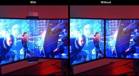 """华硕推出ROG无边框Kit ABF01:将三台显示器""""无缝""""连接"""