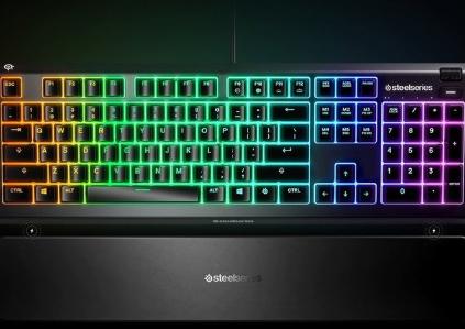 赛睿发布 Apex 3和Apex 5超薄游戏键盘:售价69.99美元起
