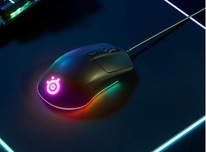 赛睿推出Rival 3鼠标:加入RGB环形灯带