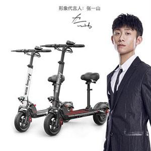 阿尔郎代步电动滑板车成年折叠迷你电动车电动自行车代驾电瓶车女