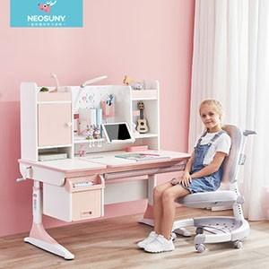 壹号森林儿童学习桌小学生书桌可升降男女孩写字桌课桌椅套装家用